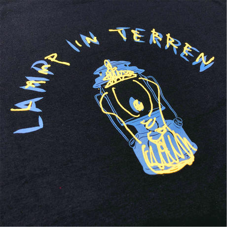 LAMP IN TERREN / ロゴTシャツ(ネイビー)