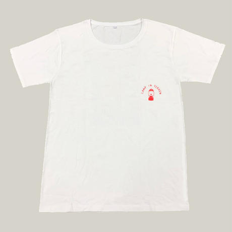 LAMP IN TERREN / Bloom Tシャツ(ホワイト)