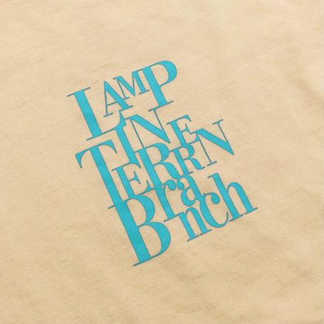 LAMP IN TERREN / 【10月中旬発送】BranchスウェットロンT(シェルピンク)
