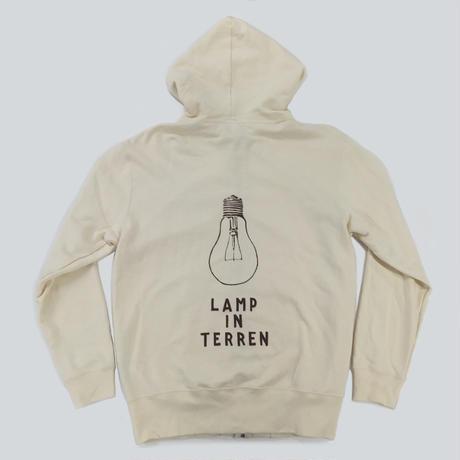 LAMP IN TERREN / BULBジップアップ パーカー