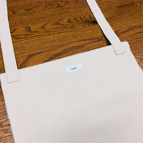 odol / threading logo tote bag