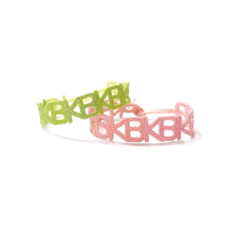 KANA-BOON / KB刺繍ブレスレット -Spring-