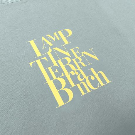 LAMP IN TERREN / 【10月中旬発送】BranchスウェットロンT(プルシャンブルー)