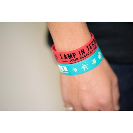 LAMP IN TERREN / TOUR「SEARCH+ #007」ラバーバンド(レッド)