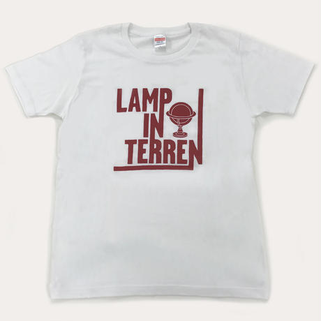 "LAMP IN TERREN / 「in ""fantasia""」ツアーTシャツ(ホワイト)"