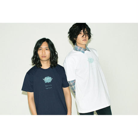 "LAMP IN TERREN / ""Water Lily"" Tシャツ(ホワイト)"