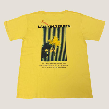LAMP IN TERREN / Bloom Tシャツ(イエロー)