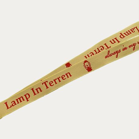 LAMP IN TERREN / ネックストラップ(イエロー)