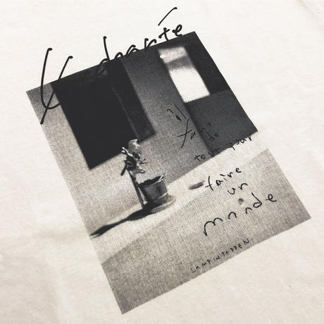 LAMP IN TERREN / Enchanté ロングTシャツ(ナチュラル)