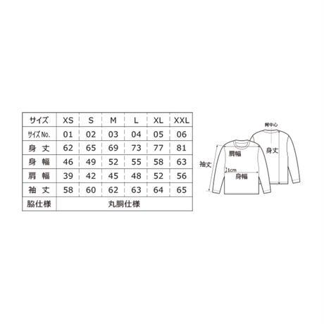 DENIMS / 3Dロゴ刺繍ロンT