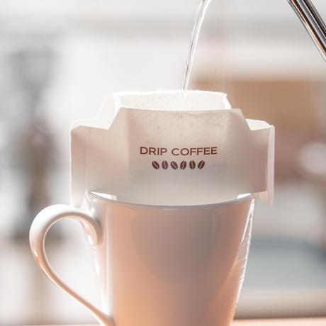 簡単に本格コーヒーを。 DRIP BAG  4個セット