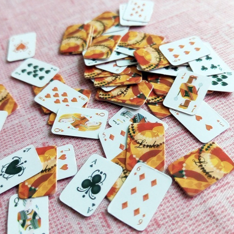 Small playing cards × 6piece