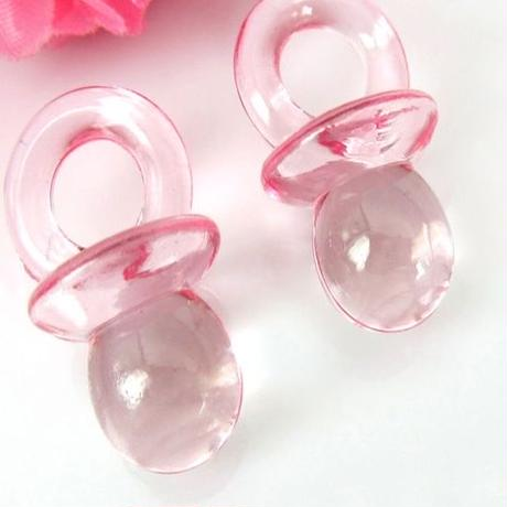 Clear Pacifier Parts(L) × 6piece