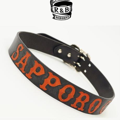 オリジナルカービングベルト R&B「SAPPORO CITY」