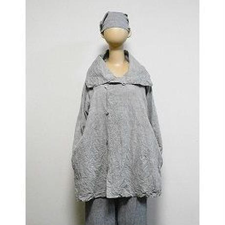 大きな衿の オーブジャケット