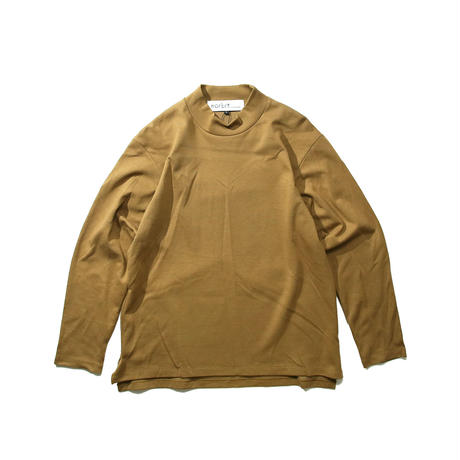 MOCK NECK LONG SLEEVE T