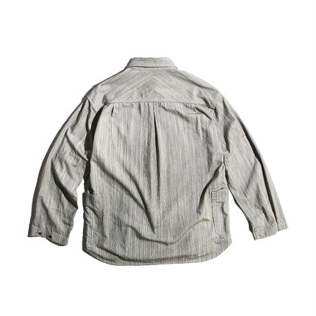 PIN-STRIPE HICKORY WORK SHIRT/HNSH-012