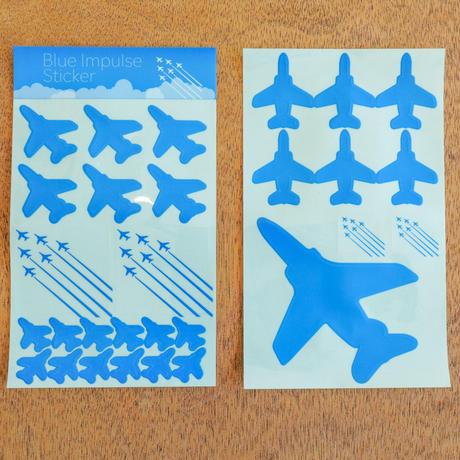 ブルーインパルスステッカー(ブルー/ホワイト)