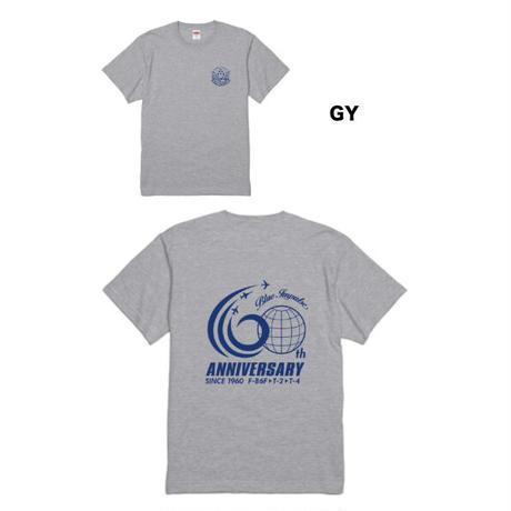 オリジナル60thTシャツ 各色(NV・BL・GY)