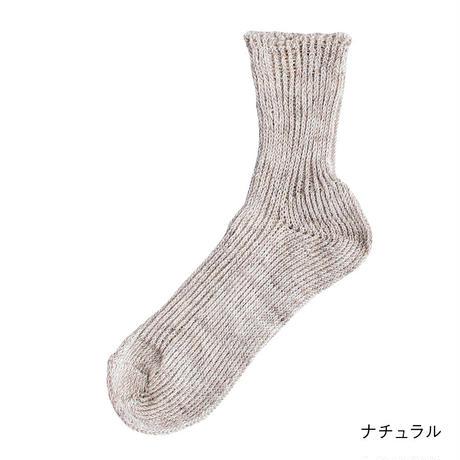 リネン ショートソックス / Homie ホミー / H-035