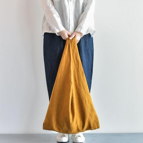 [日本製品染め]リネン マルシェバッグ[ストライプ]teint TE-012S