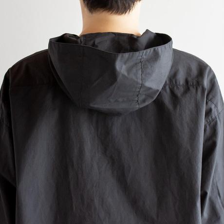 コットンリネン タイプライターオープンフーデッドシャツ Heavenly ヘブンリー 2112132