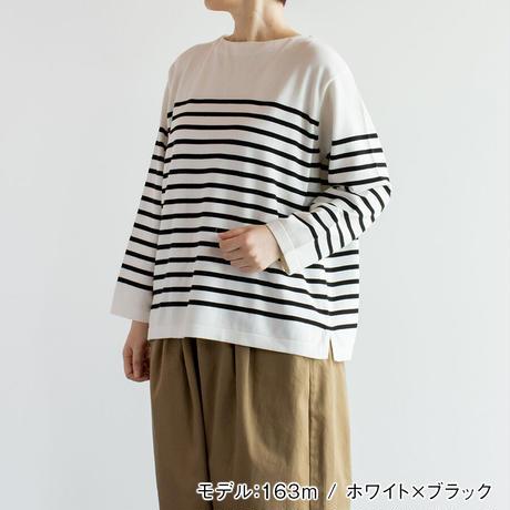 コットンニットワイドバスクスシャツ Heavenly ヘブンリー 2112174
