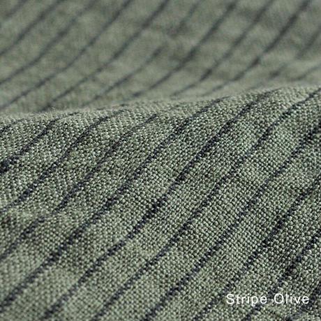 [日本製品染め]リネン テーブルクロス[Sサイズ 130cm×130cm][チェック][ストライプ]teint TE-009C/S