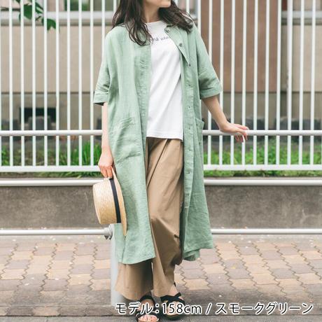 Heavenly ヘブンリー / リネンS/Sワイドシャツワンピース(全4色)/2136012