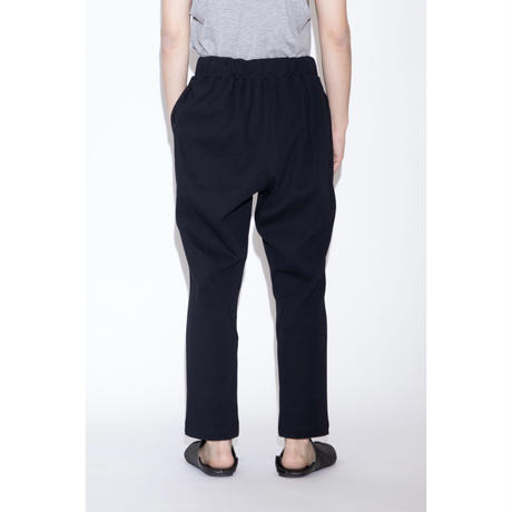 VOAAOV RELAX KNITTED PANTS [ BLK ]