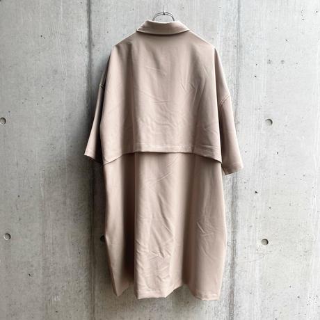 jiji - LONG SHIRT [ BEIGE ]