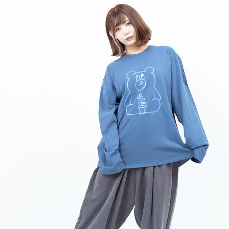 CREATORS #3 (Toshiyuki Maeda) - L/S TEE [ BLUE ]