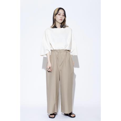 VU wide easy pants [ BRN ]