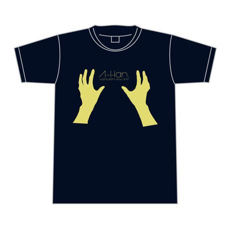 鷲掴み Tシャツ <イエロー>【感覚ピエロ】