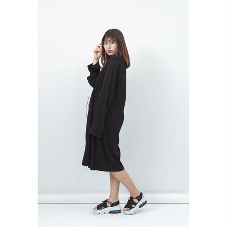 jiji - WAIST MARK CORT [ BLACK ]