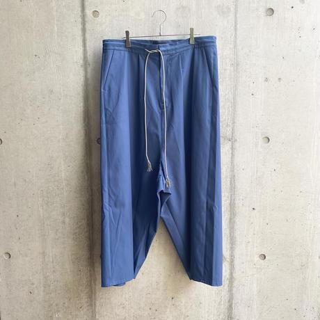VUy - wide silhouette pants [ BLU ]
