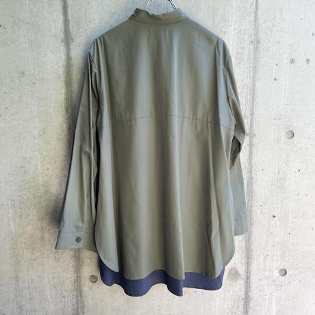 VUy - two slit shirt [ GREEN ]