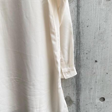 jiji - TIE SHIRT [ WHITE ]