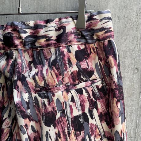 OURET - SLIM EASY PANTS [ BORDEAUX ]