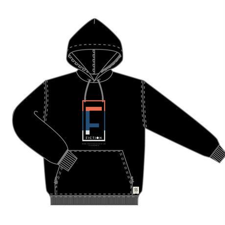 A-F パーカー <ブラック>【感覚ピエロ】