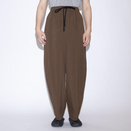 my beautiful landlet TECHNO WIDE EASY PANTS [ BR ]