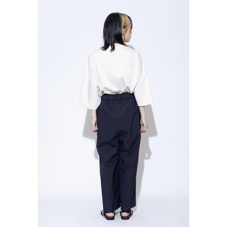 VU wide easy pants [ NVY ]