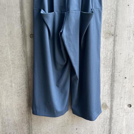 VUy - box slit pants [ BLUE ]
