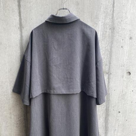 jiji - LONG SHIRT [ GRAY ]