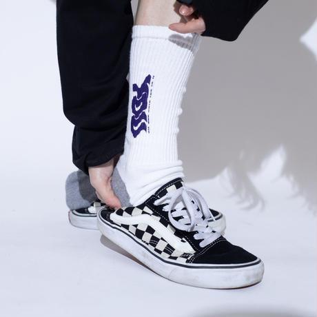 ING YOU logo socks [WHT]