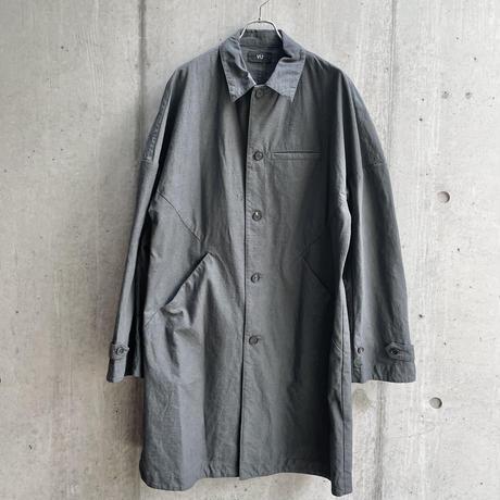 VU - dyed coat [ GRAPHITE ]