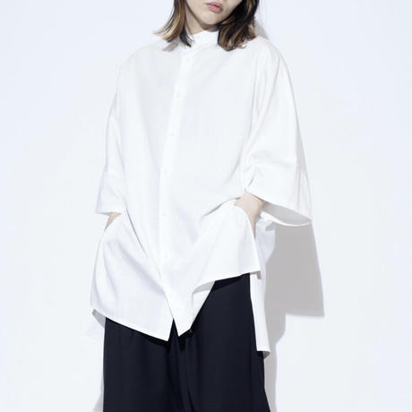 VU standcolor shirt [ WHT ]