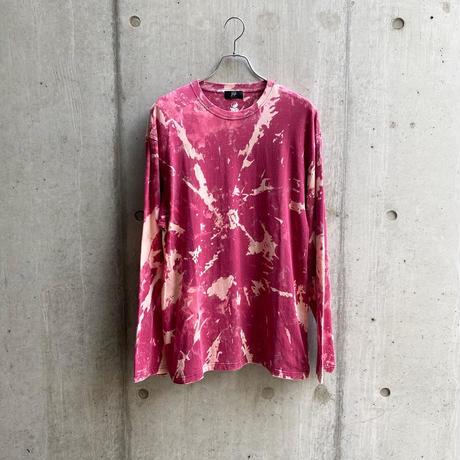 ING YOU - back print long sleeve T-shirts [ TIE-DYE ]