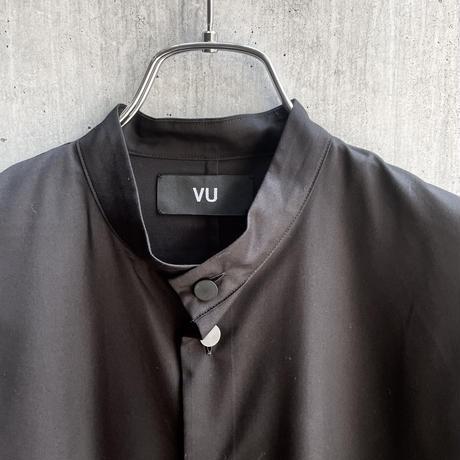 VUy - standcolor shirt [ BLACK ]