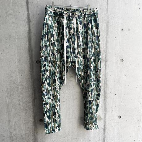 OURET - SLIM EASY PANTS [ GREEN ]